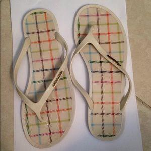Coach lyra flat flip sandals 7B